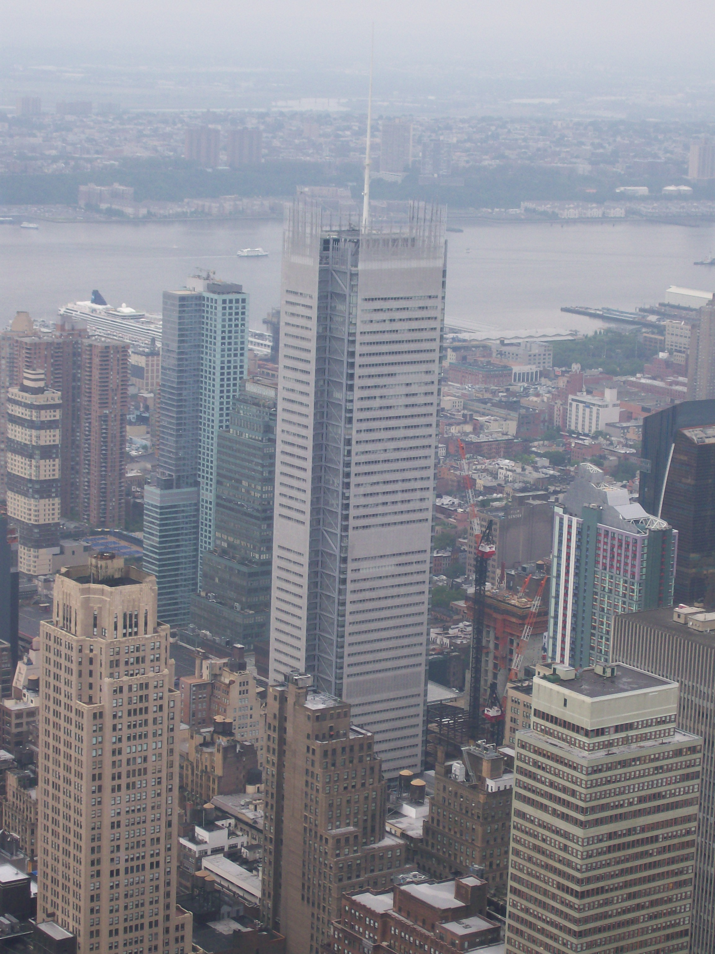 File New York Times building, as seen from the Empire State Building Observatory jpg
