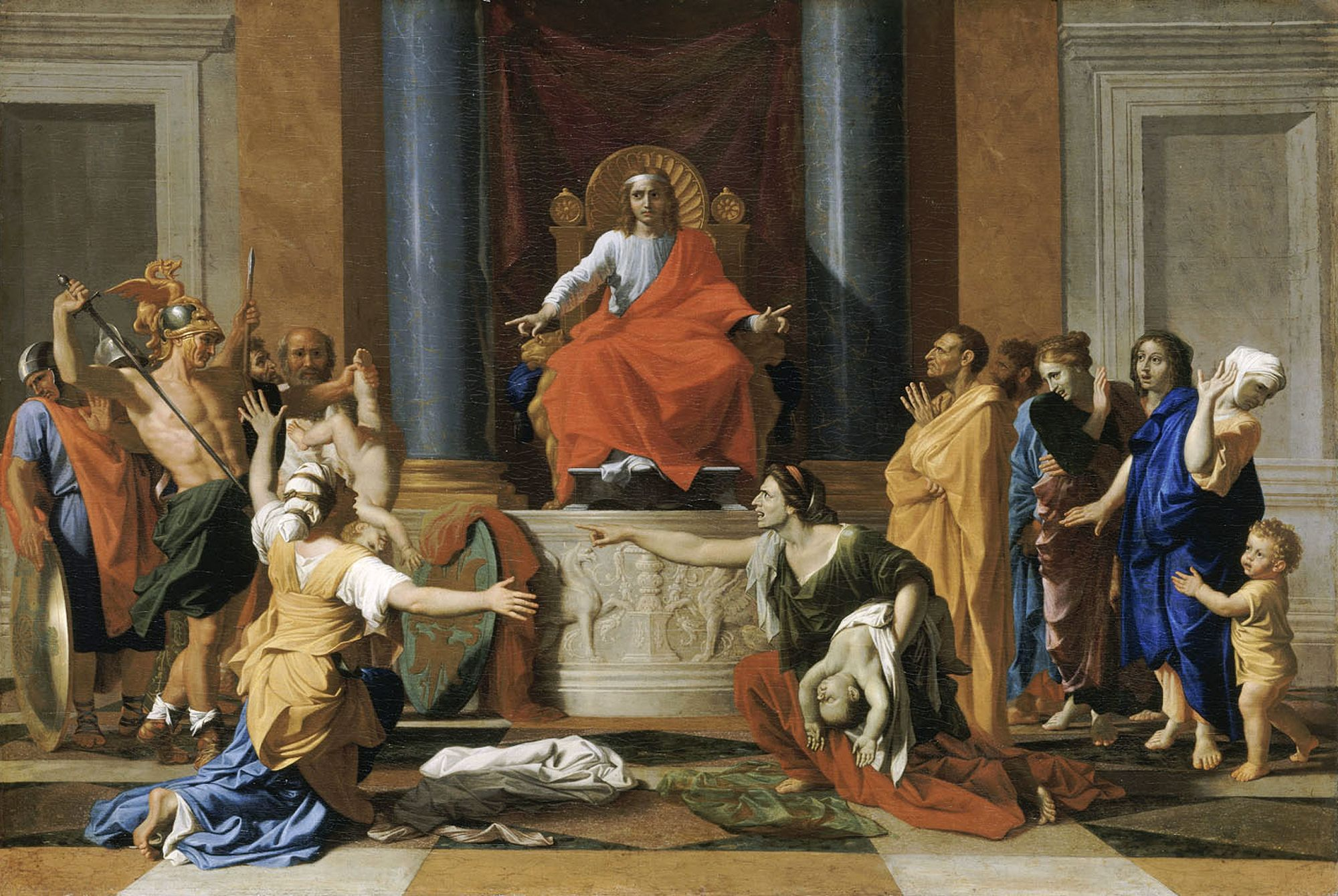 Nicolas Poussin - Page 2 Nicolas_Poussin_-_The_Judgment_of_Solomon_-_WGA18330