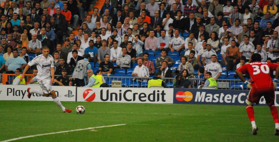 Benzema Champions League Real Madrid 3 - O.Marsiglia