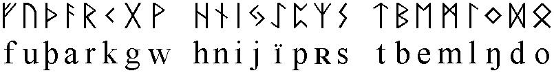 Die germanische Runenreihe