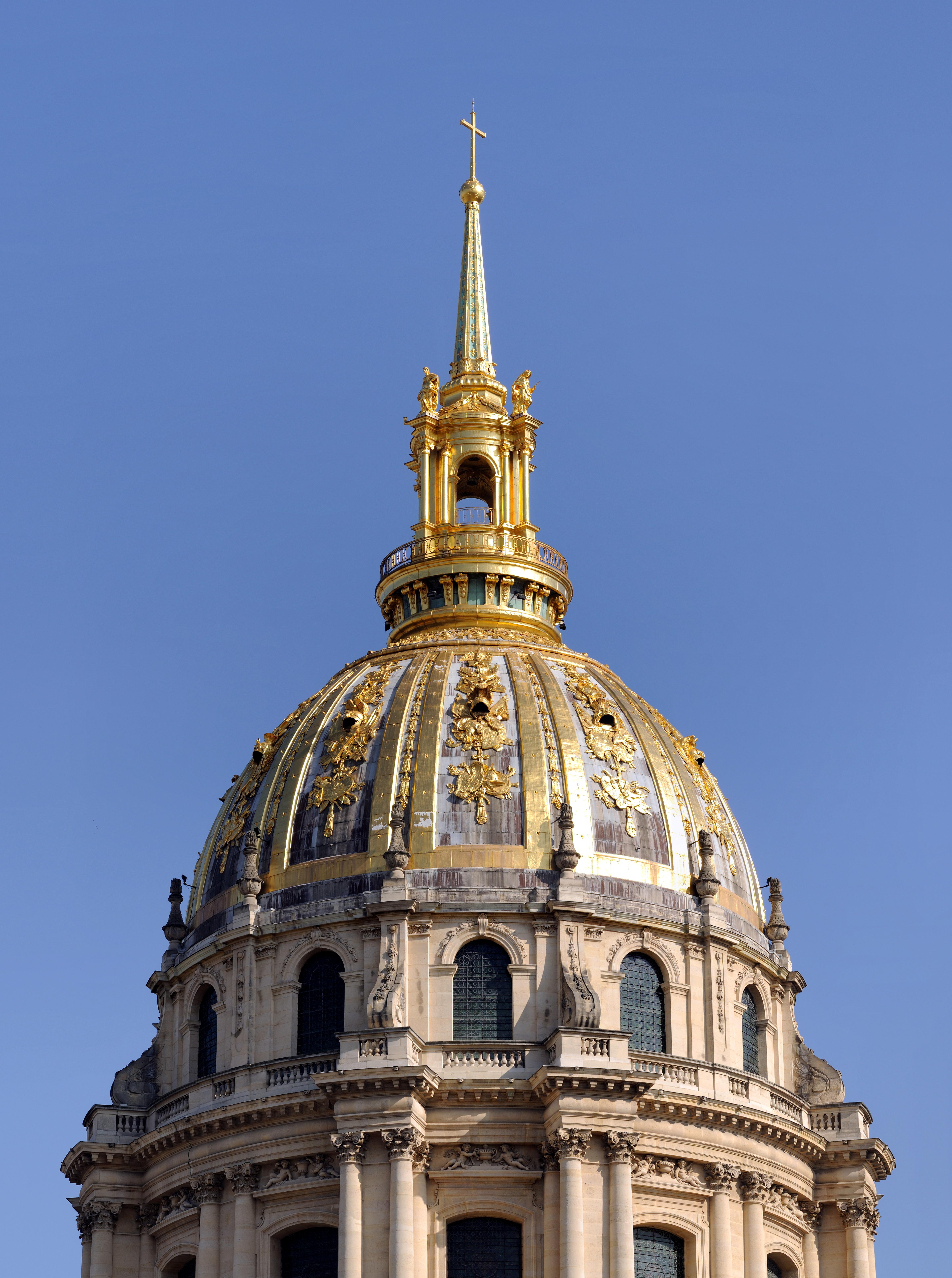 Datei Paris Invalidendom Kuppel