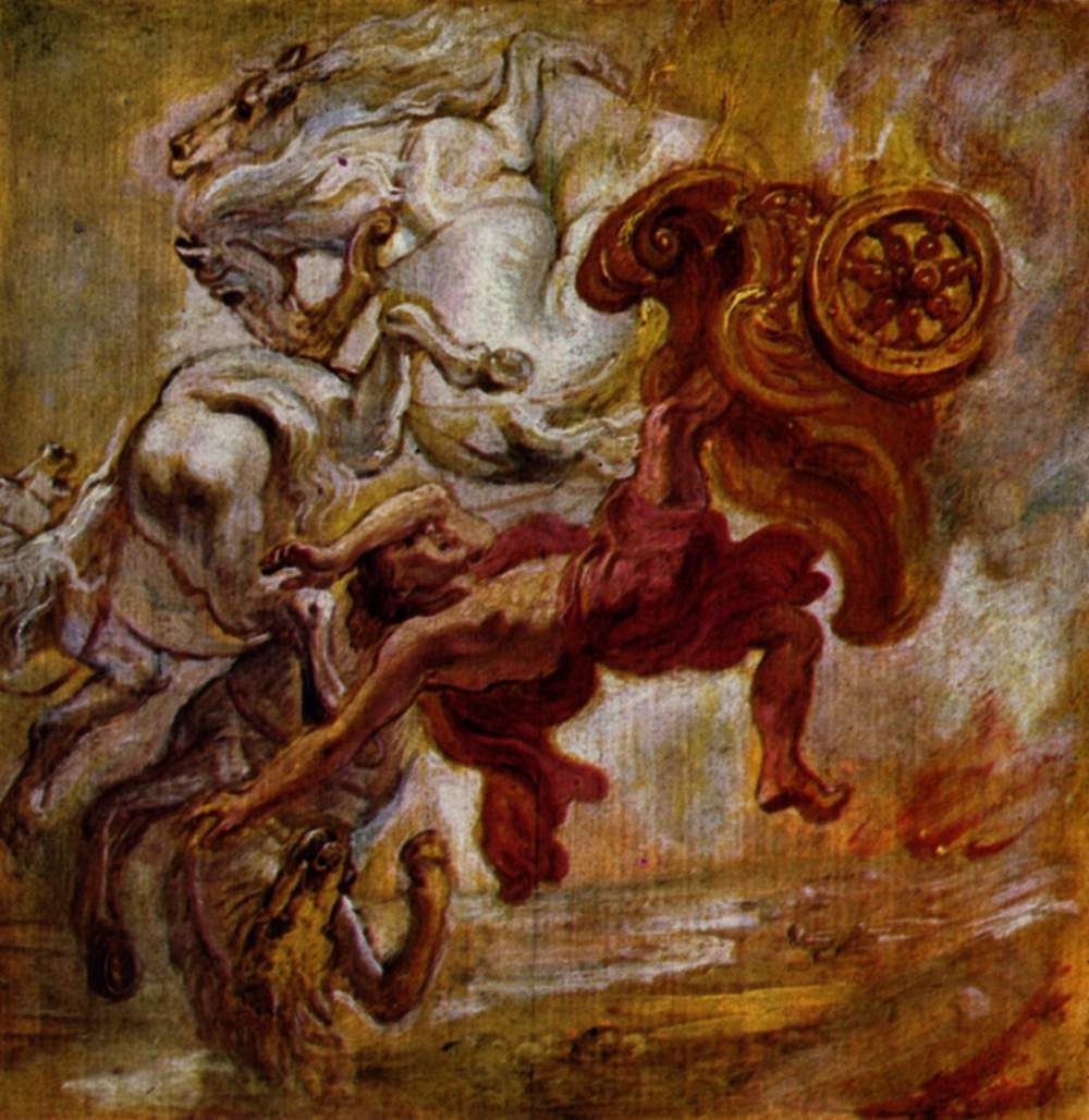 Peter Paul Rubens Prometheus Bound 1618 Peinture