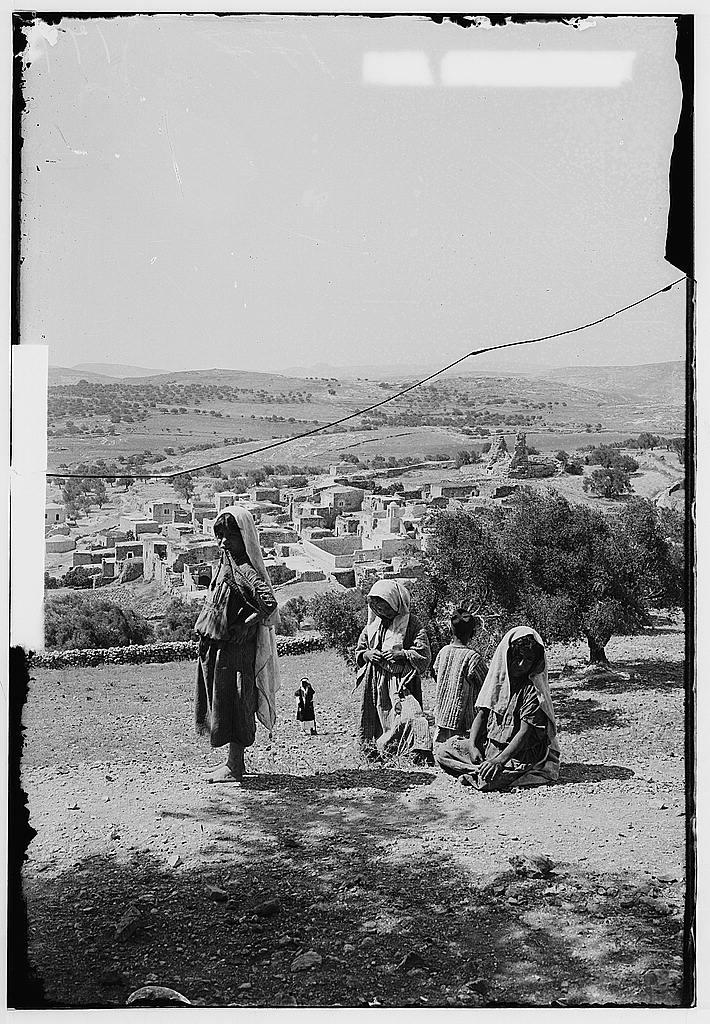 אל-עזריה, במורד הר הזיתים