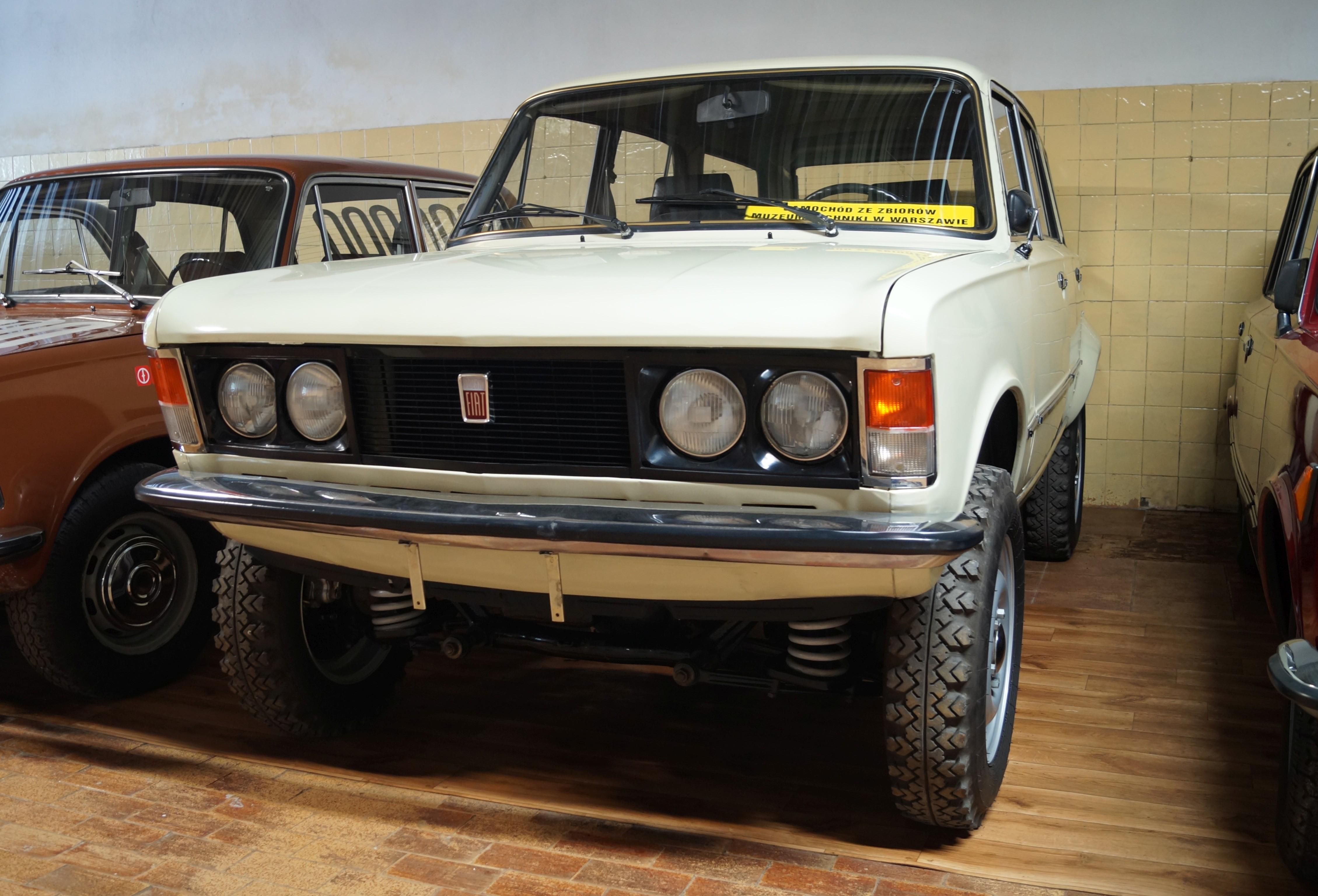 File:Polski Fiat 125p kombi 4x4  Muzeum w Chlewiskach.jpg  Wikimedia Commons