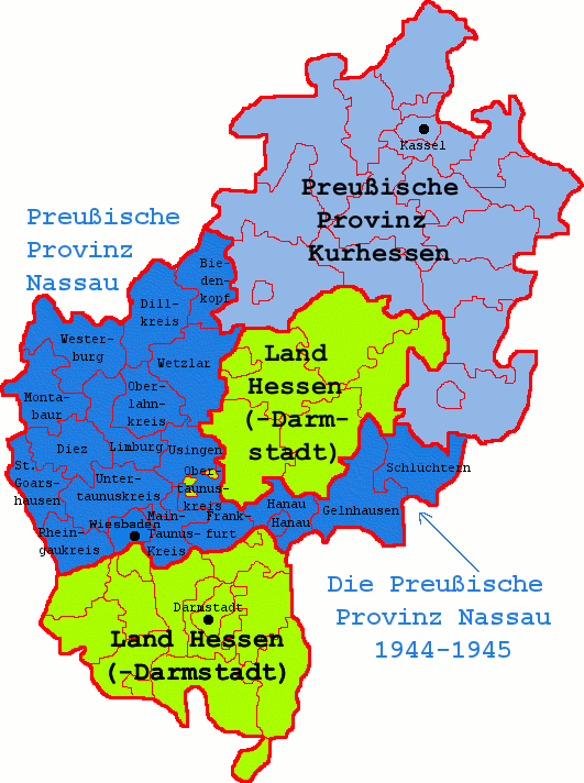 Nassau Hessen