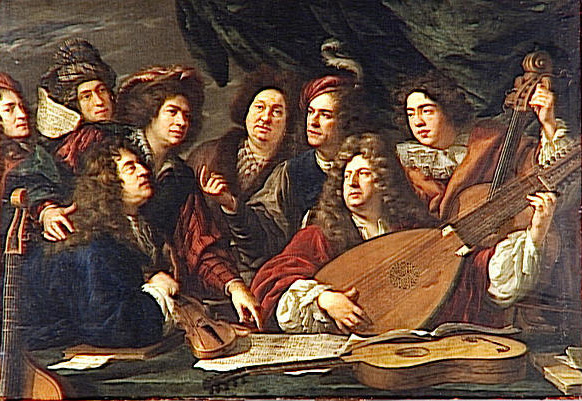 baroque orchestra painting - photo #25