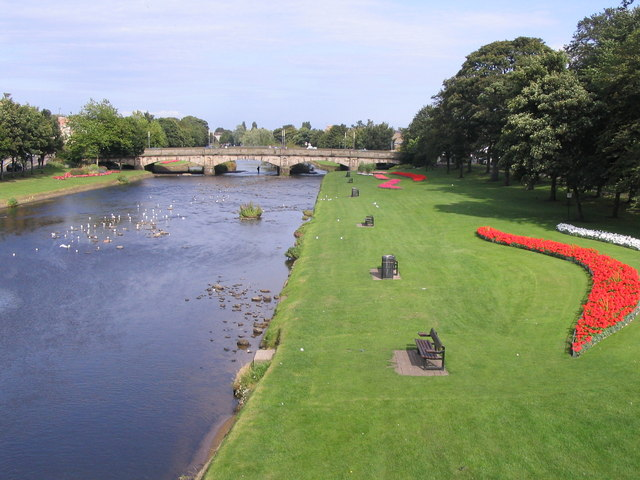 River Esk, Musselburgh - geograph.org.uk - 552492