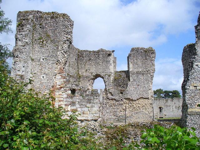 Ruined Palace at Bishop's Waltham - geograph.org.uk - 431977