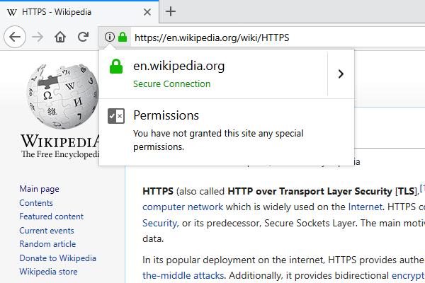 Файл:SSL Certificate Info Box In Firefox.png — Википедиа нэвтэрхий толь