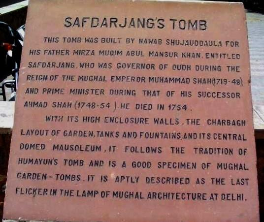 File:Safdarjungtomb notice.jpg
