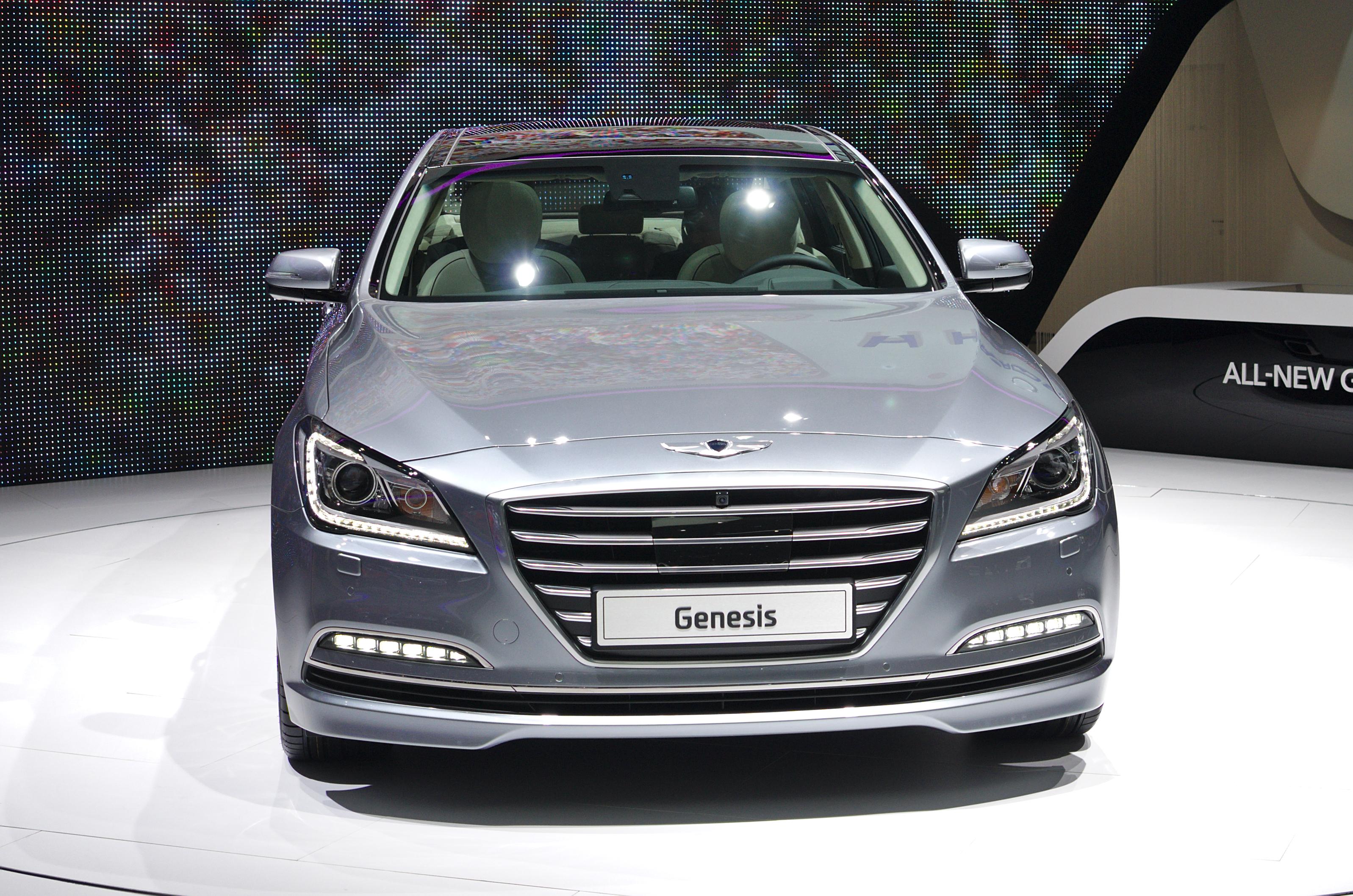 Depiction of Hyundai Genesis