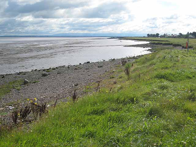 Shoreline between Bowness-on-Solway and Port Carlisle - geograph.org.uk - 933192