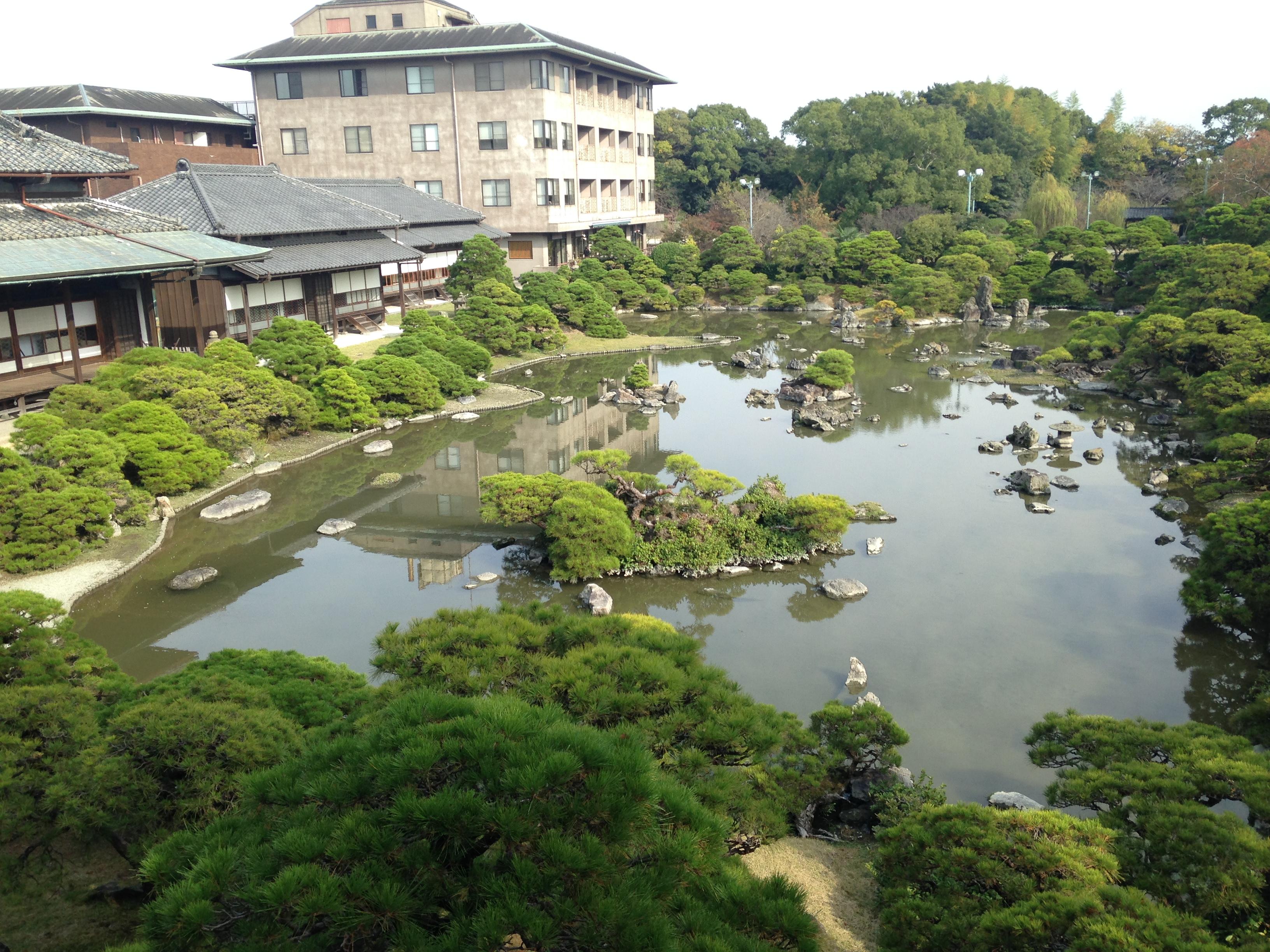 File Shotoen Garden Of Tachibana Clan From 2nd Floor 20141111 4 Jpg Wikimedia Commons