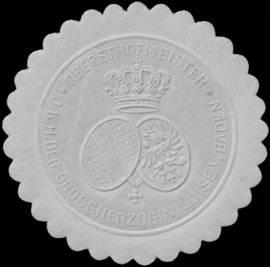 File:Siegelmarke Obersthofmeister I.K.H. der Grossherzogin Luise von Baden W0350202.jpg