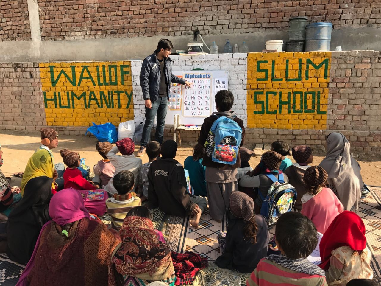 Image result for Rohayl Varind Slum School