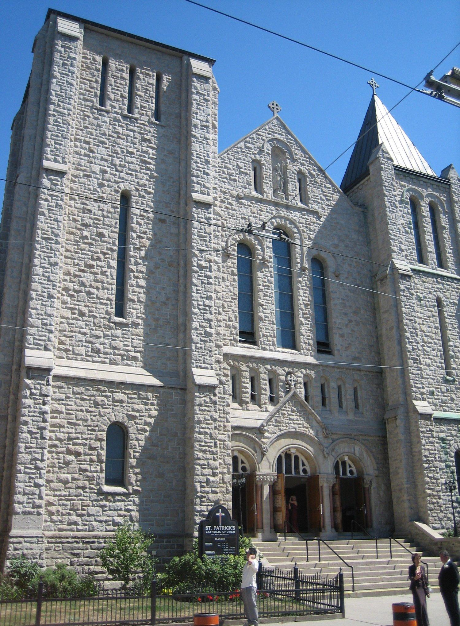 St. Patrick's Church (Toronto) - Wikipedia