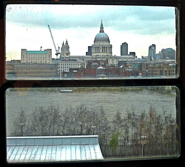 File St Paul S Cathedral From The Top Floor Cafe Of Tate Modern Geograph Org Uk 1601176 Jpg Wikimedia Commons