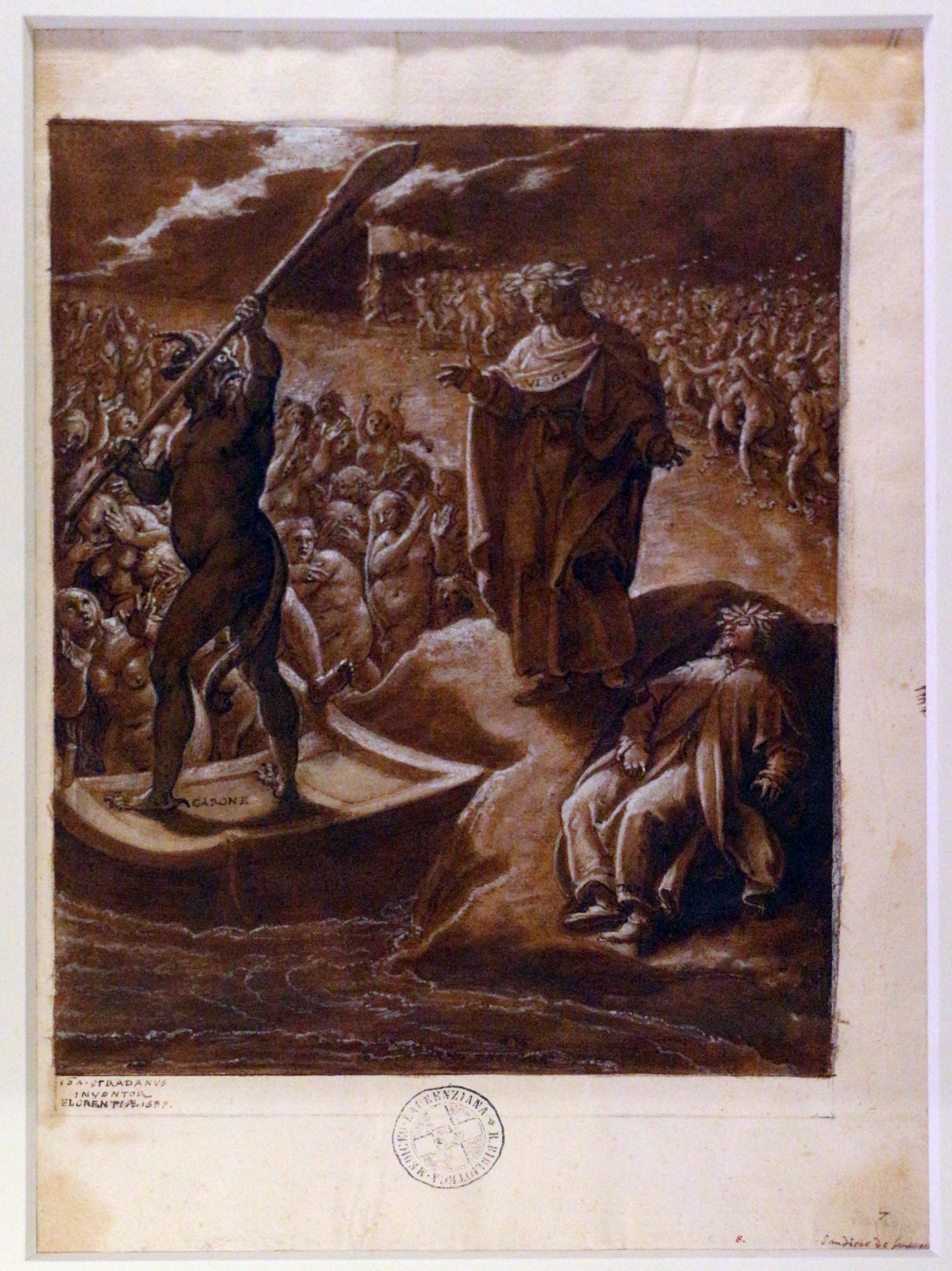 File:Stradano, bandiere de' carcerati e caronte (III, 52-136