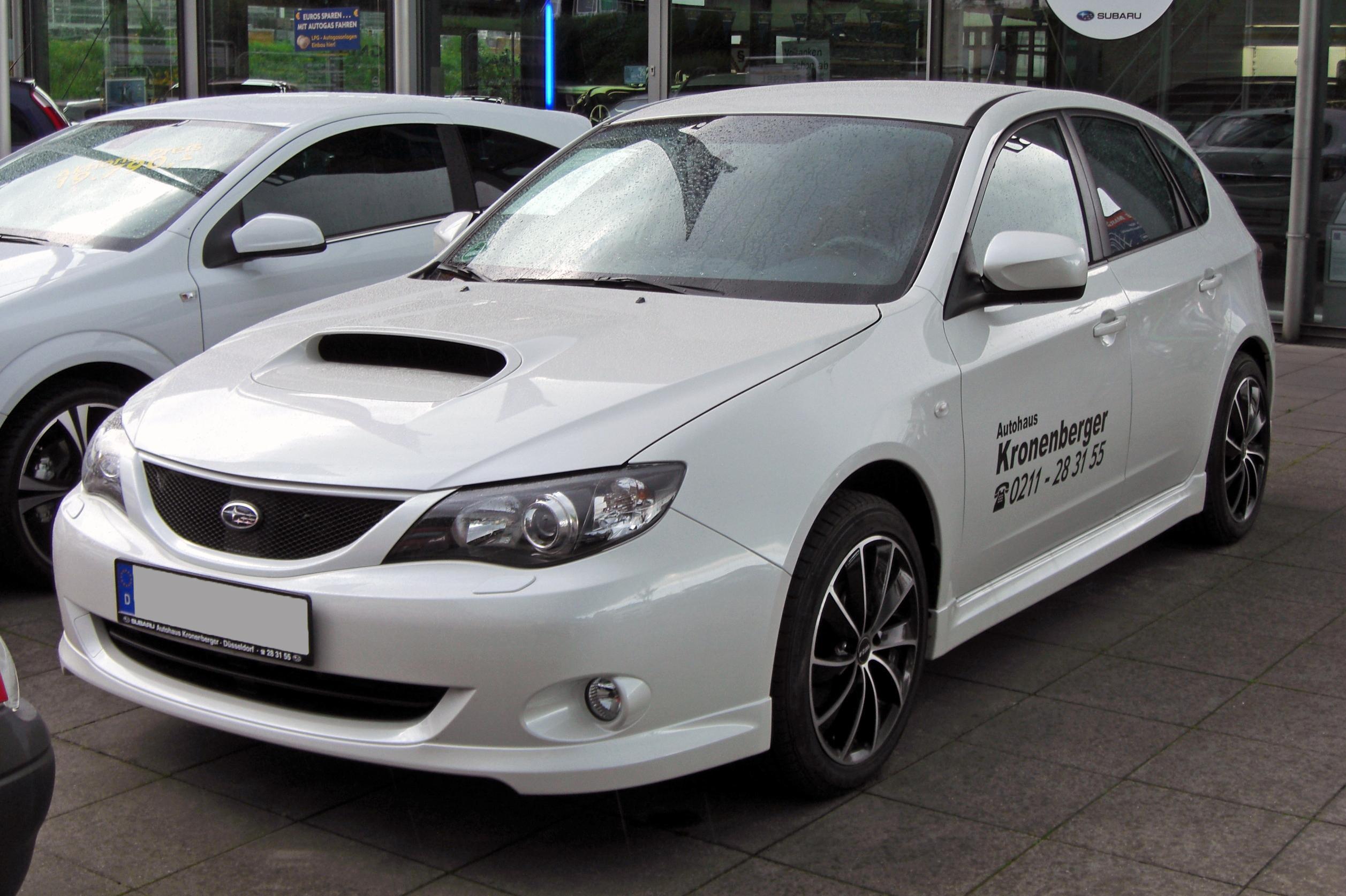 2009 Subaru Impreza 2 0D RC 5 door hatchback with air con alloys