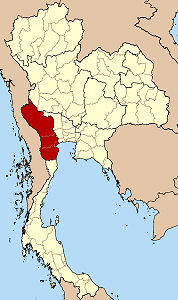 Location of the Diocese of Ratchaburi
