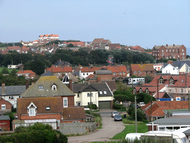 The village of Mundesley - geograph.org.uk - 968098