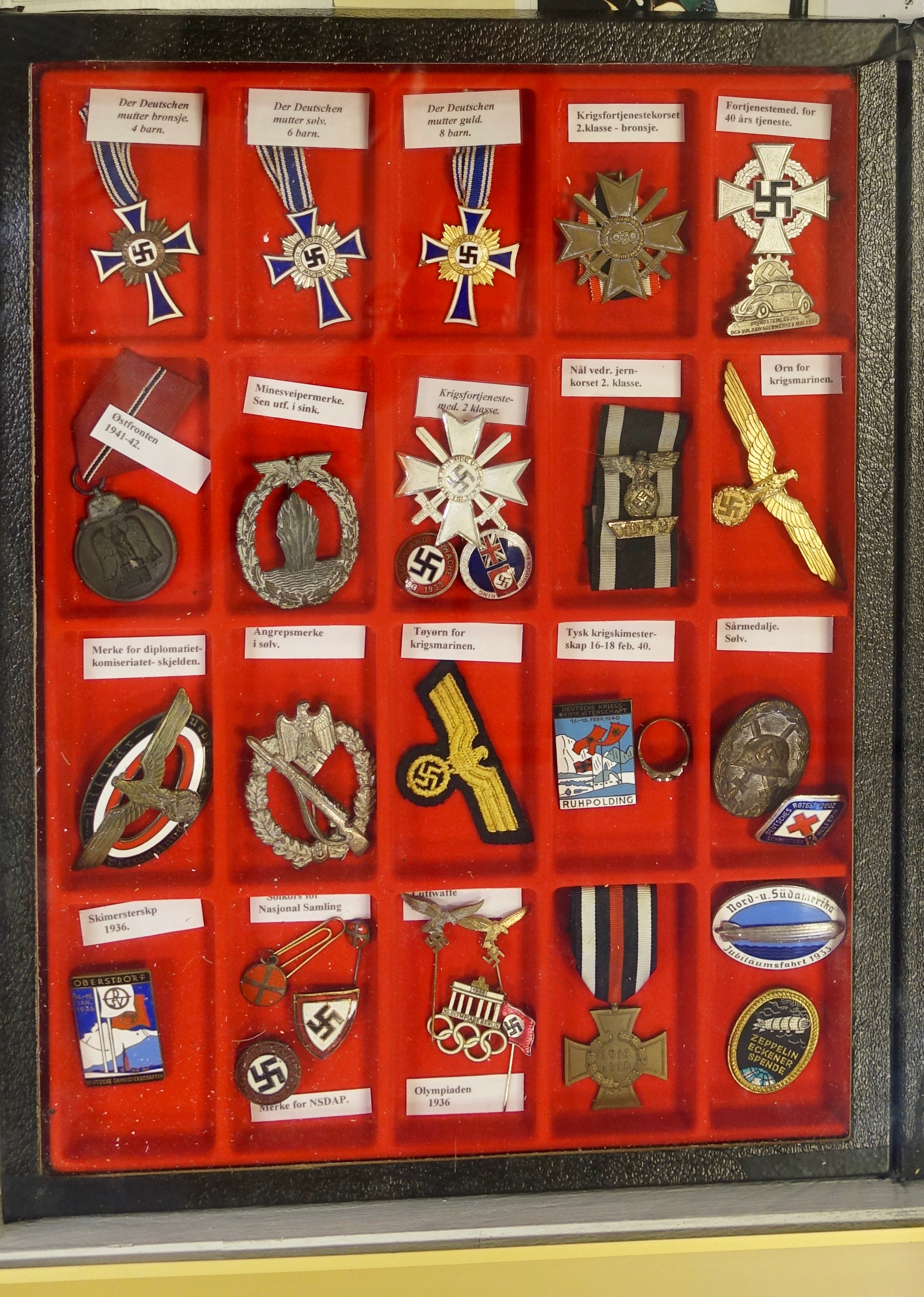 Nazi Pins And Medals