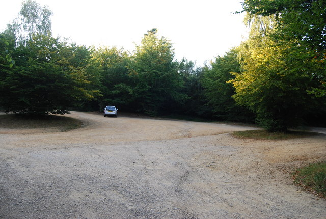 Toy's Hill Car Park - geograph.org.uk - 1499399