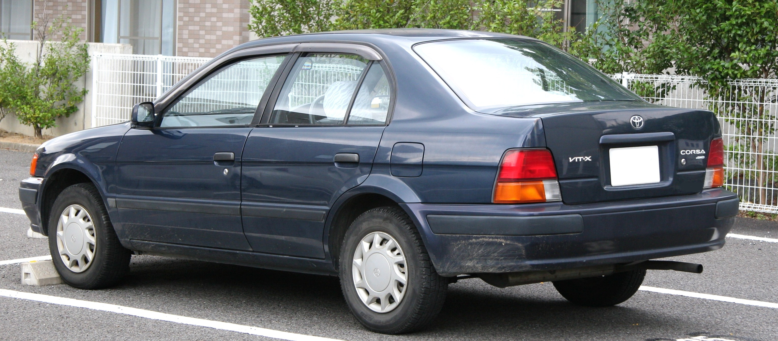 File Toyota Corsa Rear Jpg Wikimedia Commons