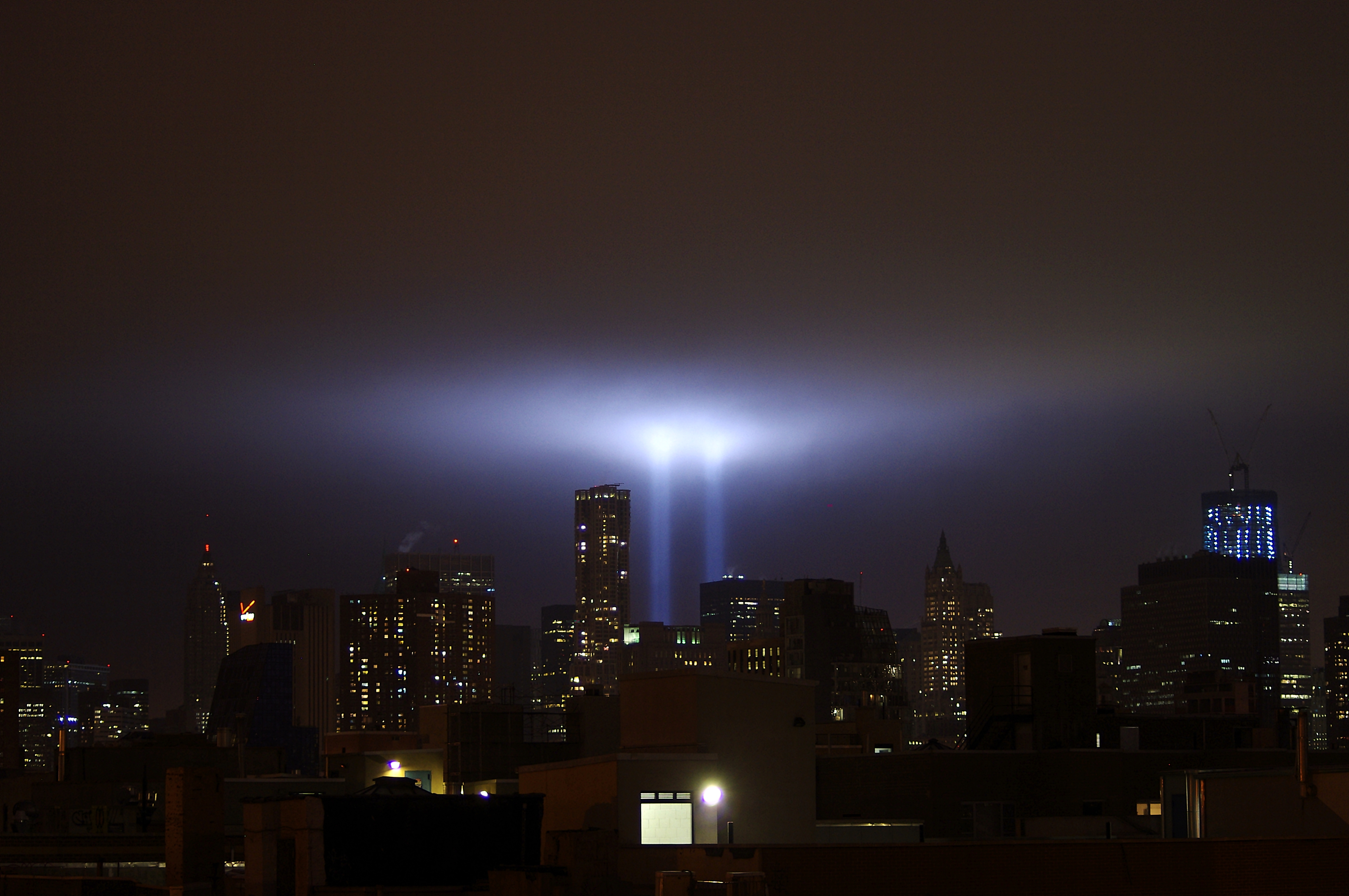 """NYC ♥ NYC: September 11, 2010 """"Tribute In Light"""""""