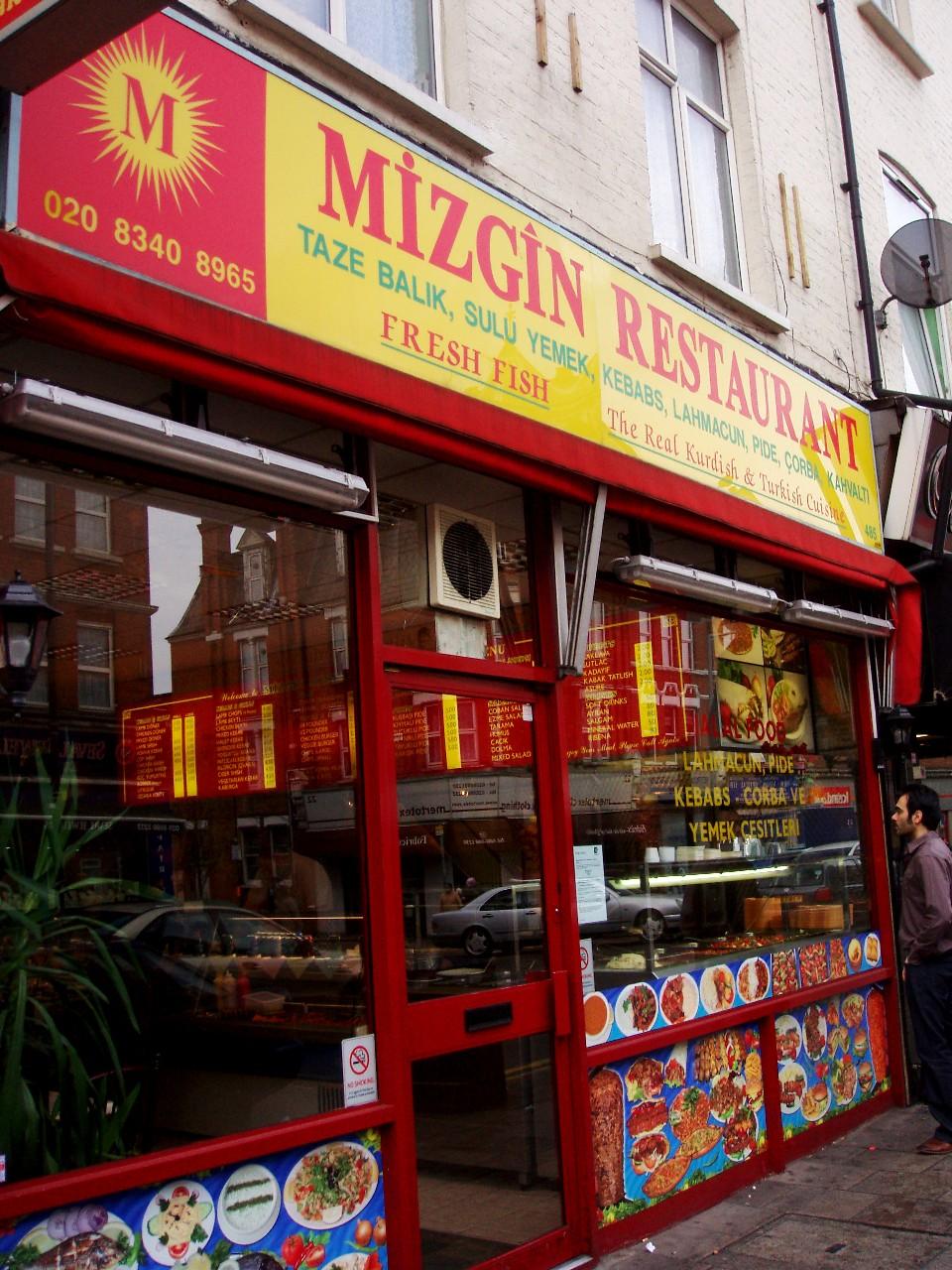 Istanbul Turkish Restaurant Shrewsbury Menu
