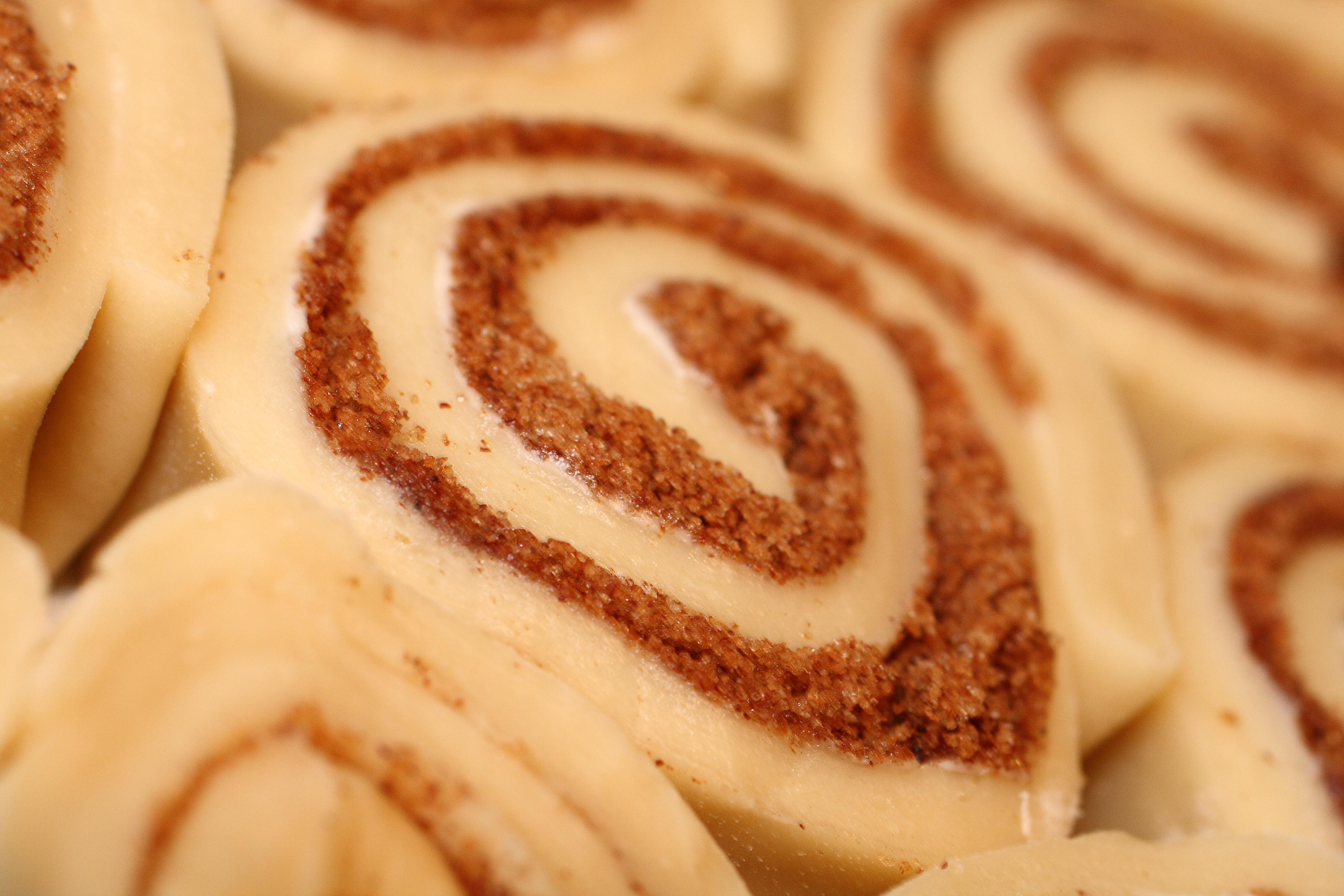 Cinnamon Bun With Cake Mix