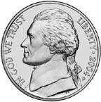 United States nickel coin