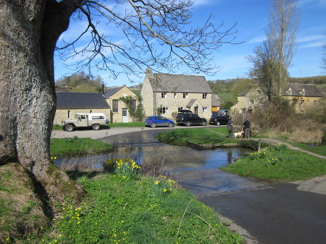 Upper Slaughter, The Ford-geograph-5328161