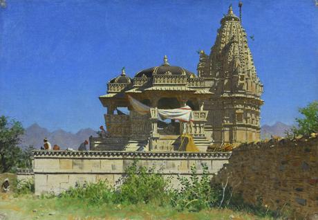 Индуистский храм в Удайпуре, 1874—1886