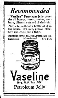Vaseline newspaper ad 1922.png