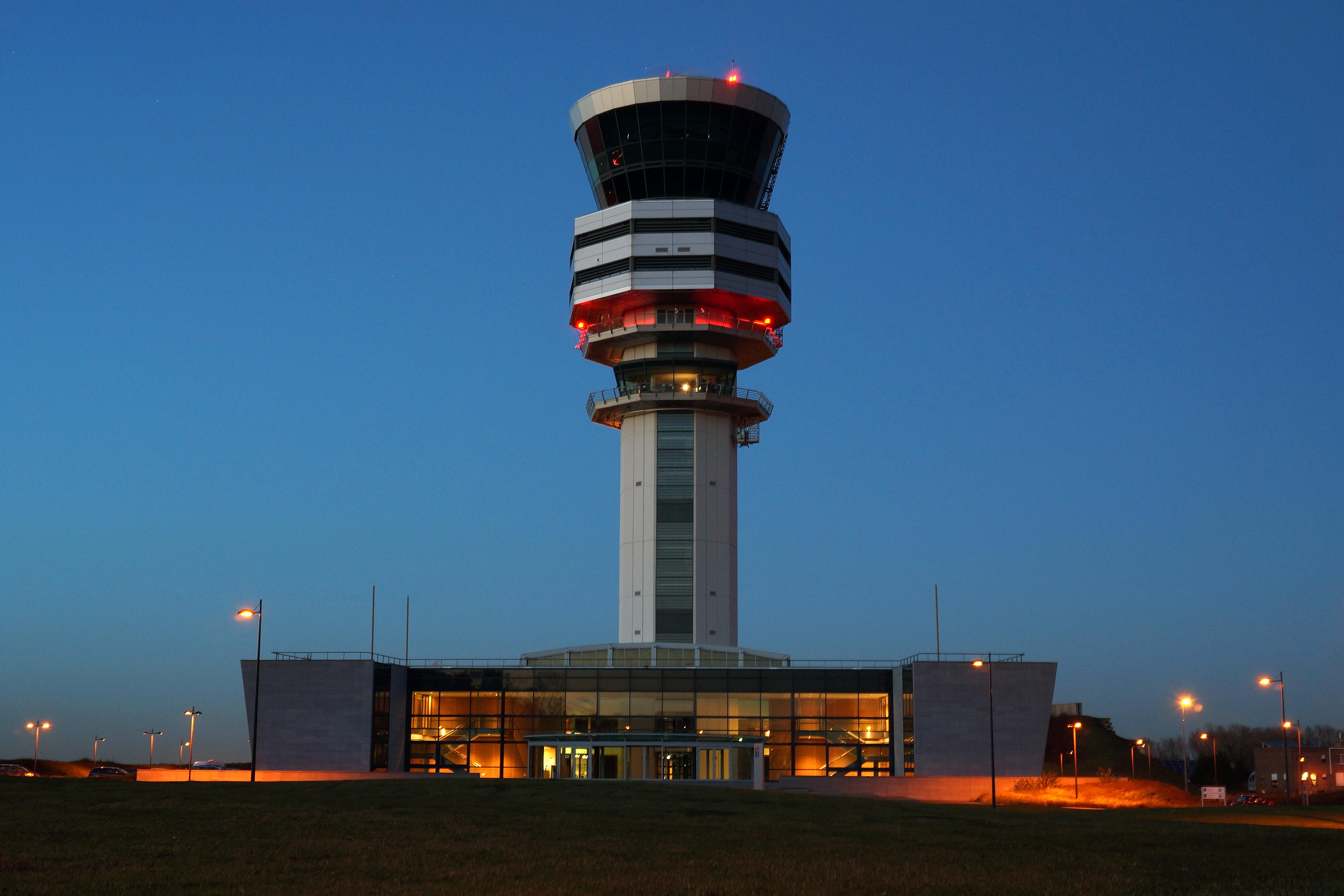 Verkerstorren Brussels Airport