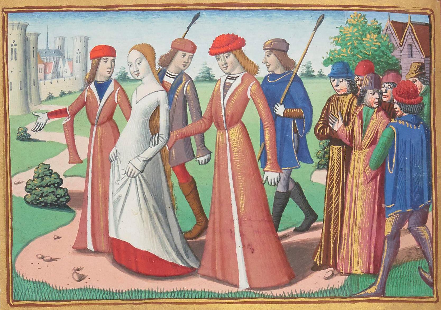 Des saintes transgenres au Moyen �ge