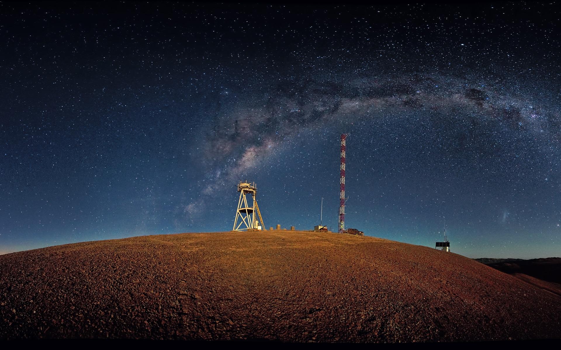FileWallpaper Of Night Time Cerro Armazones