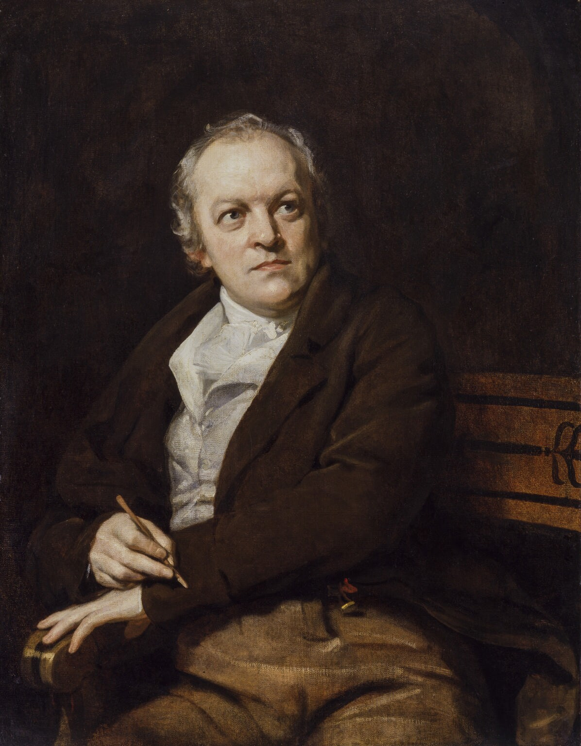 Portrait of William Blake