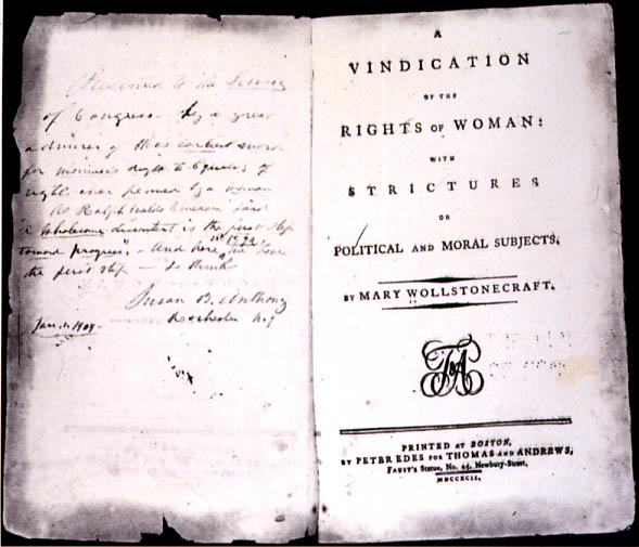 Rivendicazione dei diritti della donna - Wikipedia
