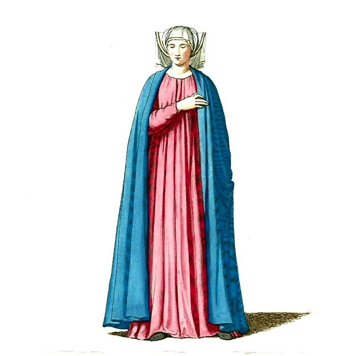 Image result for medieval woman fashion