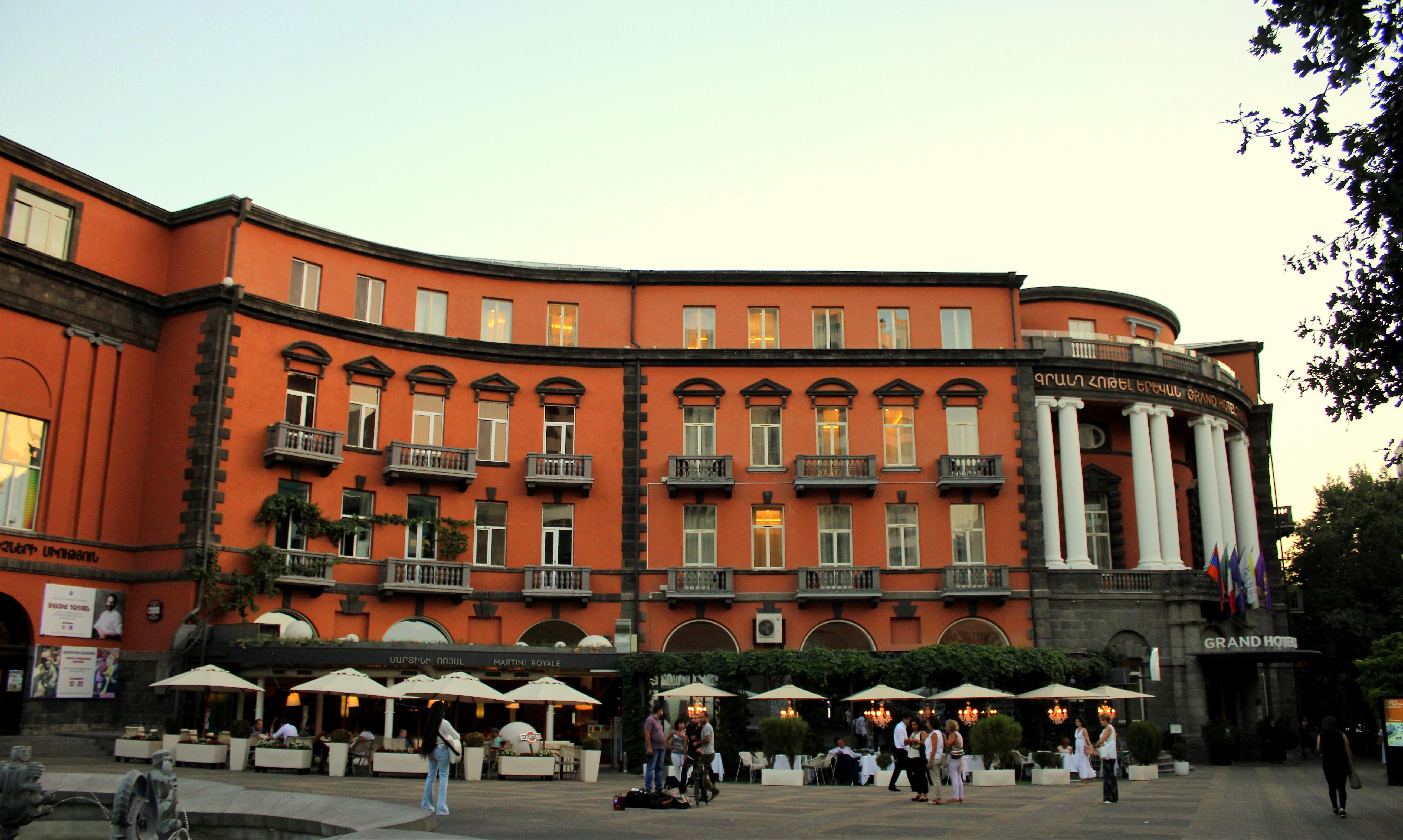 Grand Hotel Yerevan Wikipedia