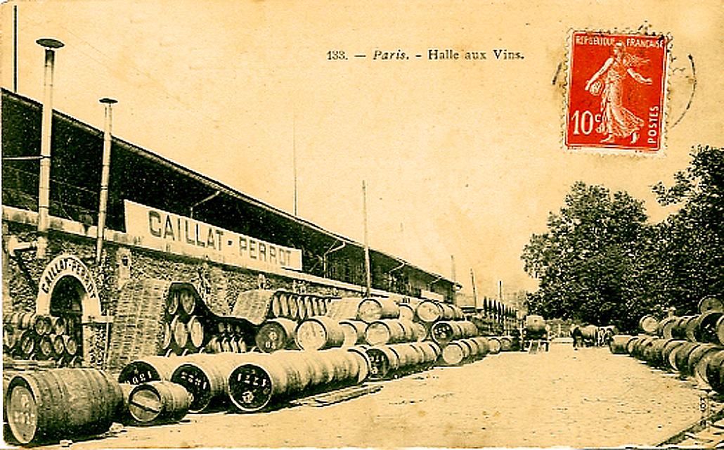 Paris La Halle aux vins 1910