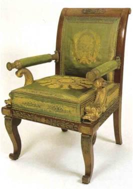 file 1829 rotes palais sessel gr ner. Black Bedroom Furniture Sets. Home Design Ideas
