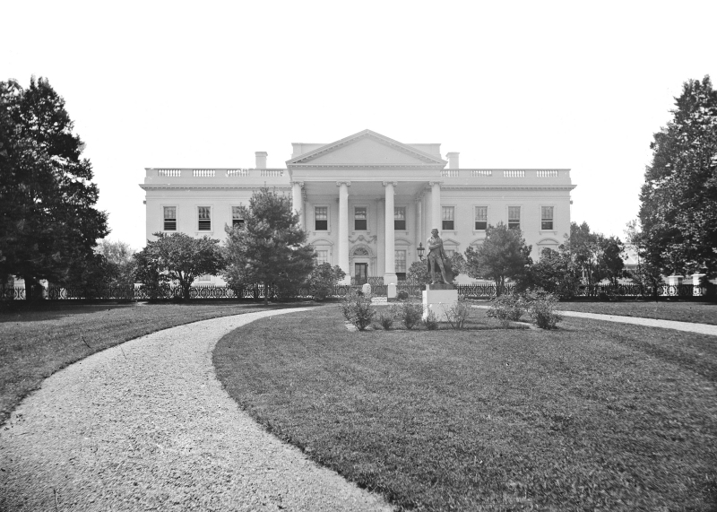 File 1860s White House Jpg Wikimedia Commons