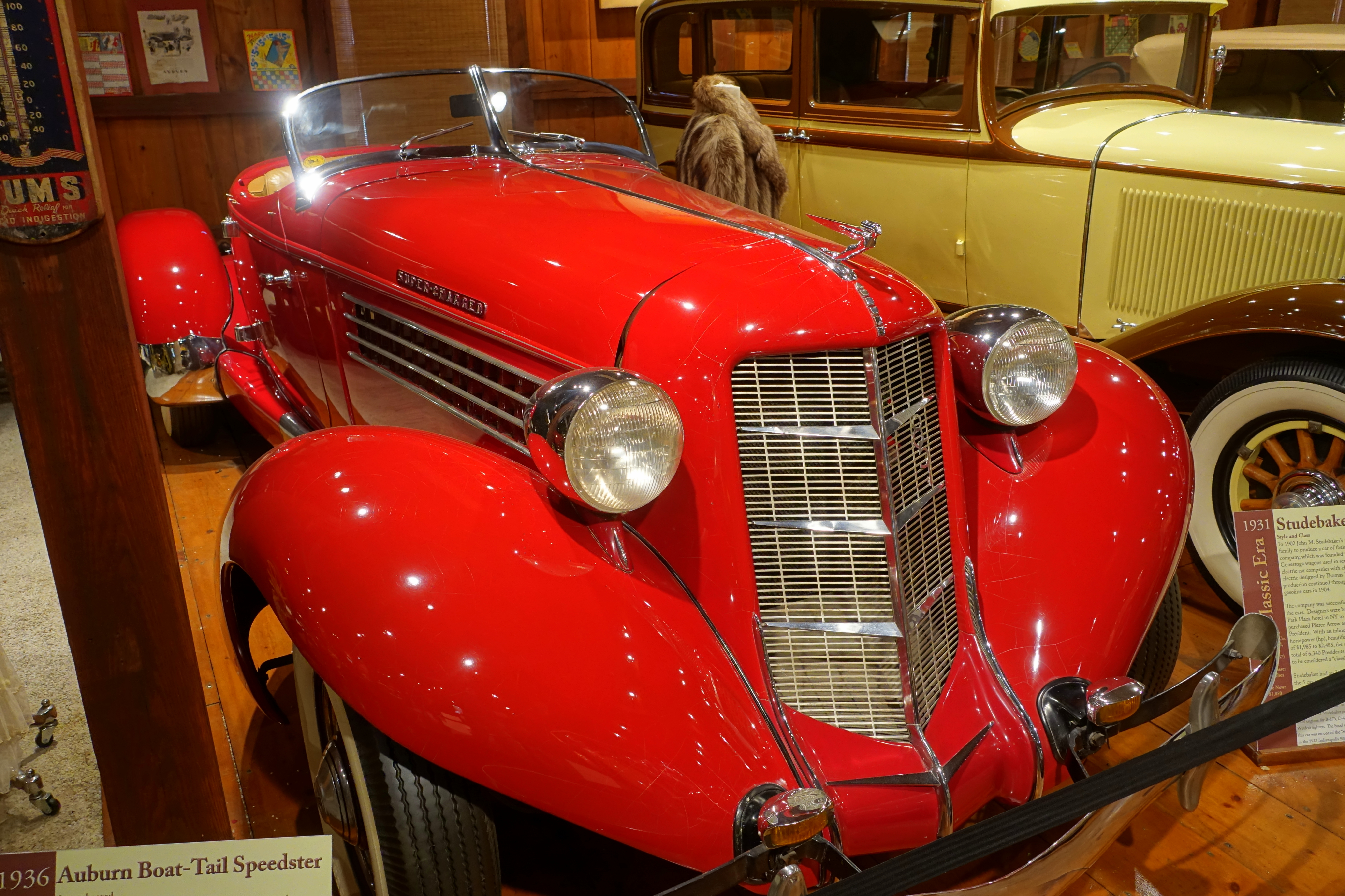 File:1936 Auburn Boat-Tail Speedster - Collings Foundation