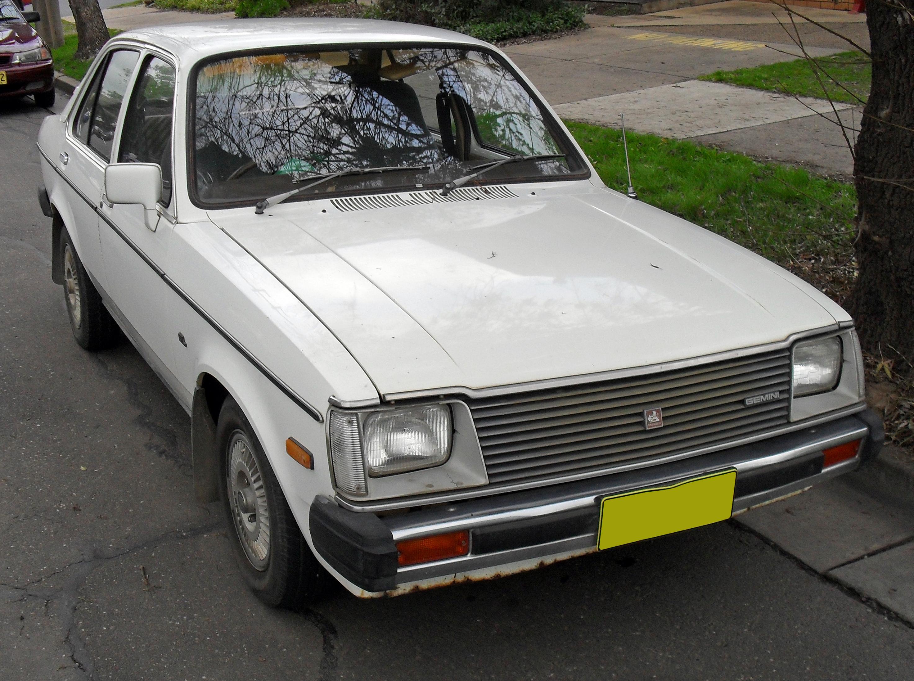 1979 1982 Holden te Gemini sl