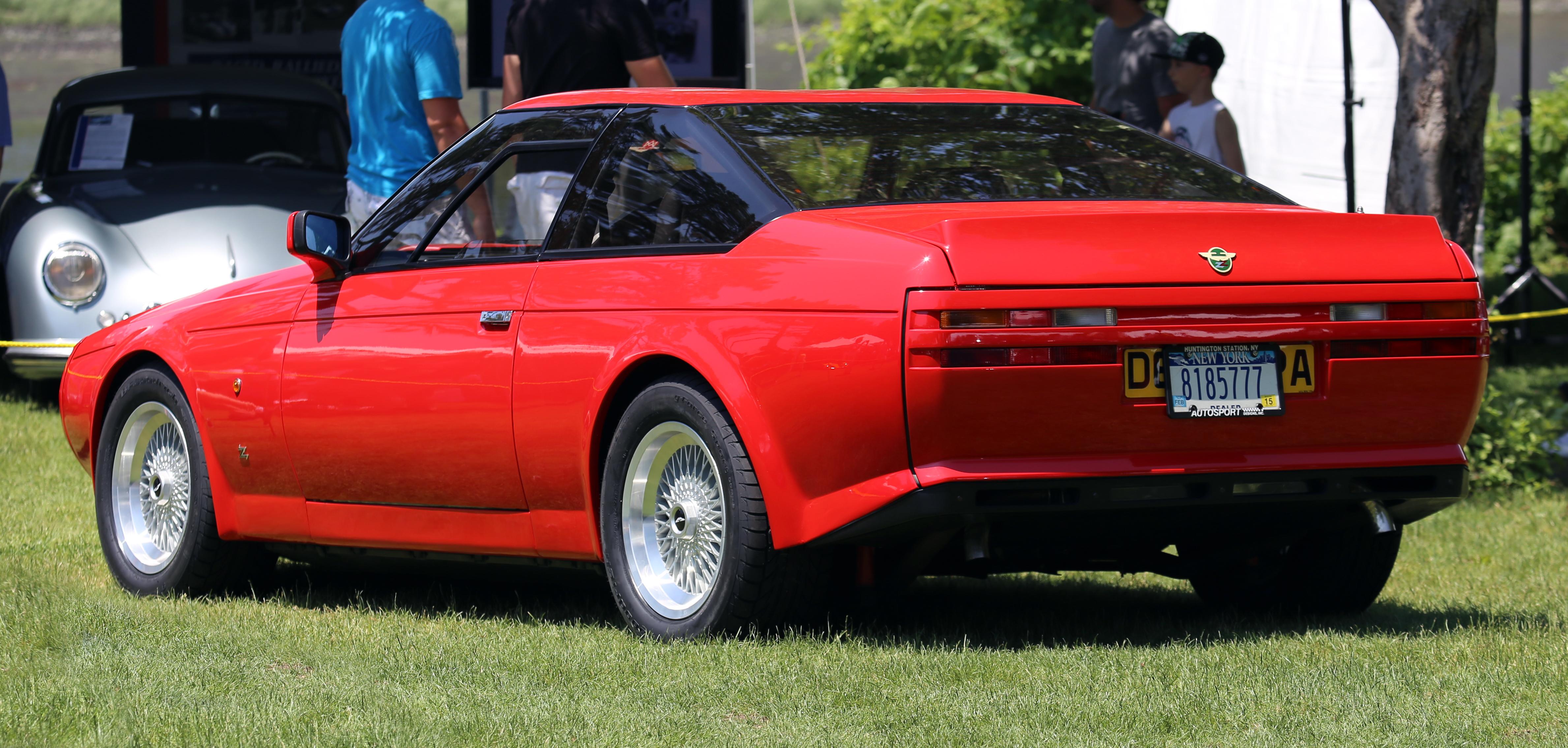 File 1987 Aston Martin V8 Vantage Zagato Rear Jpg