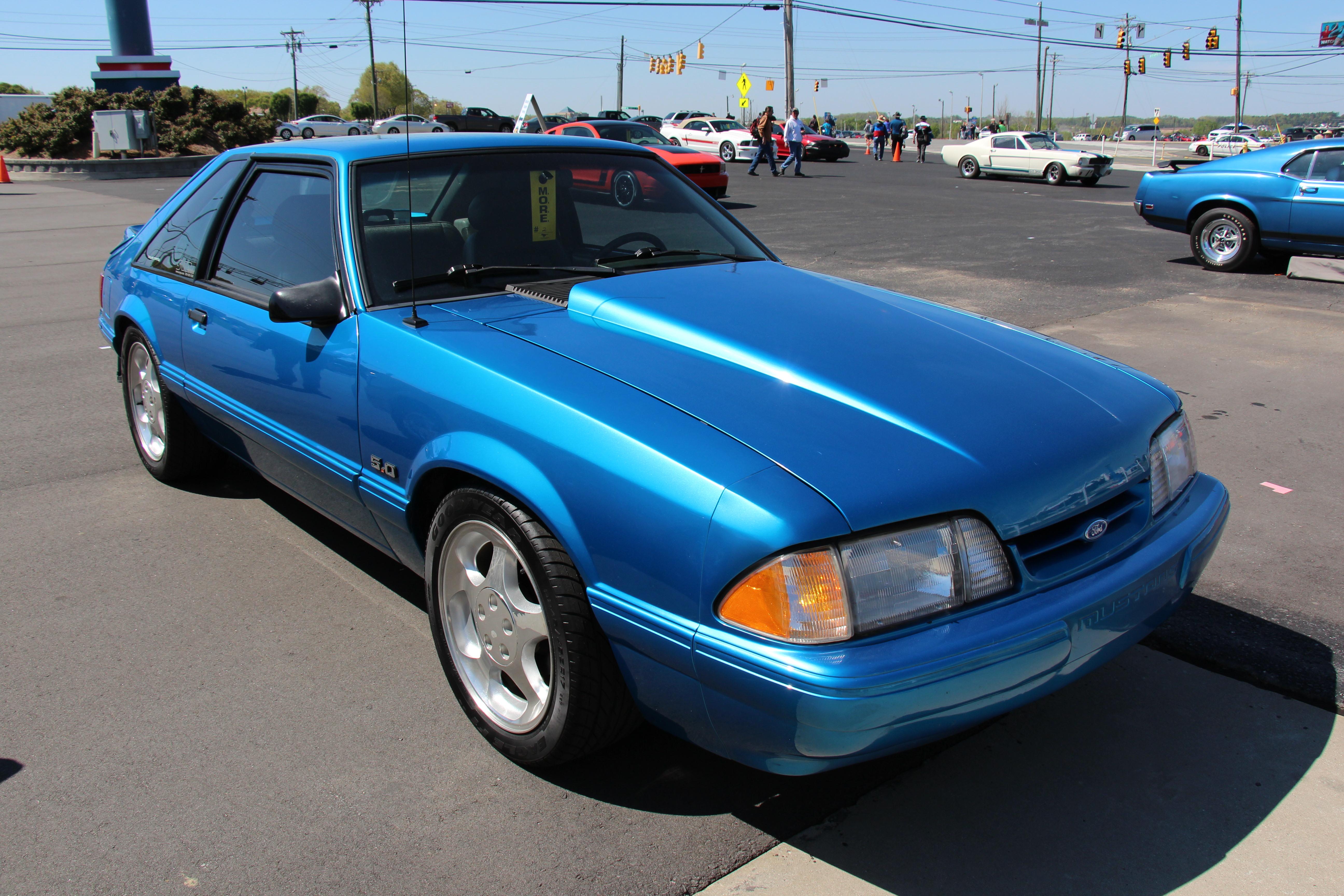 1993 ford mustang lx hatchback image