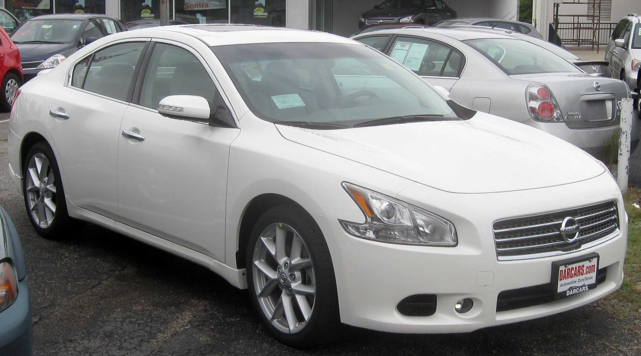 Exceptional File:2009 Nissan Maxima SV